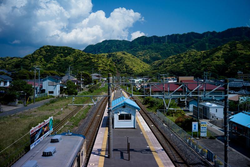 Looking back to Mt. Nokogiri